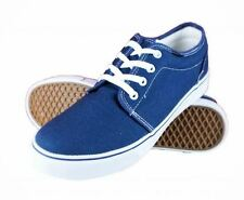 Dek Mens Canvas Lace Up Deck Boat Loafers Yachting Shoes Plimsoles UK 3-12 Navy