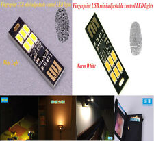 New Brand MINI Touch Switch USB mobile power camping lamp LED night light lamp D