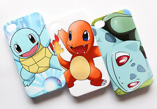 Pokemon Charmander Charizard Bulbasaur Squirtle Pikachu iPhone 4 4S Case Cover