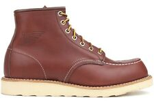 Red Wing Heritage Leather Classic 09106-1 New Mens Work 6 Inch Moc Toe Boot Shoe