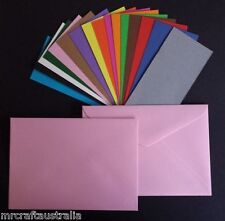 20 x C6 BABY PINK Size Envelopes(114x162mm) 120GSM Quality or choose colour
