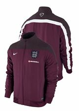 England Nike Training Jacket Woven World Cup 2014 Bordeaux ZIP POCKETS