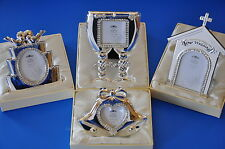 Silver Plated Wedding/Anniversary Photo Frames 25th 30th Wedding Day Gift Boxed