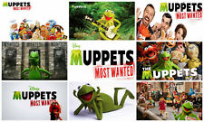 MUPPETS MOST WANTED DISNEY 2014 A4 POSTER OPTIONS Show Decorative Art Print Gift