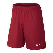 Nike USA United States WC World Cup 2014 Away Soccer Shorts Brand New Red