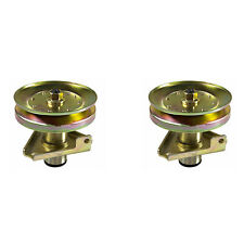 2 Deck Spindle Assembly w/ Pulley for John Deere LT160 LT180  Scotts Lawn Mowers