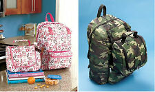Perfecto! Backback & Insulated Lunch Bag Combo Sets  - Select Girl or Boy, New