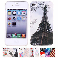 CHEAP Lovely Unique Cute Patterns Polycarbonate Case Cover For Apple iPhone 4/4S