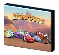 DISNEY CARS GROUP CANVAS PICTURE-3 SIZES TO CHOOSE A5, A4, A3