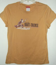 NEW CURIOUS GEORGE KNOWS FISHING T SHIRT XL jr size Big CGs BAIT & TACKLE