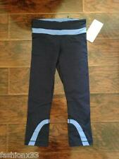 Lululemon run: Inspire Crop ll Pant Size 4,6 color cab/llby