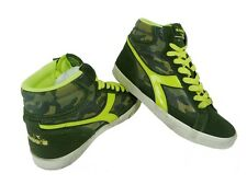 DIADORA art. CONDOR C green yellow camouflage- scarpe sneakers moda fashion