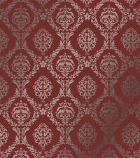 LARGE WALL DAMASK MYLAR STENCIL PATTERN FAUX MURAL DECOR #1007 (Choose Size))