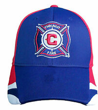 Chicago Fire Structured Flex Climalite Hat MLS Adidas Official Fitted Cap