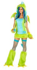 Wild Puff Monster Dragon Costume Dress Only Attached Tail CS155-QDM 1PC