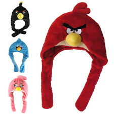 NEW OFFICIAL Angry Birds Novelty Fleece One Size Hats / Ear & Head Warmers