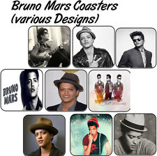 Bruno Mars Coaster (Single or Set of 4) - Various Designs