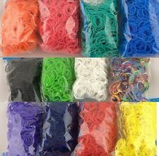 200pcs Loom Refill Bands Bracelet DIY Braided Rubber Bracelets With 8pc S-clips