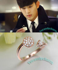 Korean TV You who came from the stars Kim Soo-hyun Proposal adjustable Open Ring