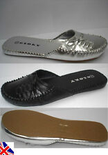 WOMENS MULE SUMMER SLIDERS FLATS LADIES FLIPFLOPS FOR INDOOR & OUTDOOR SIZE 3-8