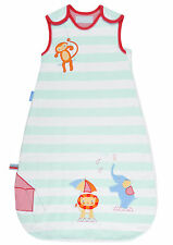 Grobag Baby Sleeping Bag 1.0 Tog - Sleepy Circus (0-6, 6-18 or 18-36)
