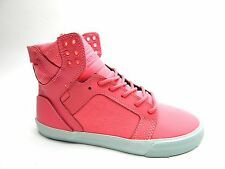 SUPRA SKYTOP PINK PINK BLUE WOMEN SHOES SIZE 7 TO 10