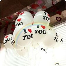 """5-100Pcs Lots 12"""" High-quality Latex Painting Balloons Wedding Birthday Party"""