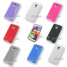 TPU Gel Rubber Silicone Skin Case Cover for Samsung Galaxy S5 SV , i9600, G900