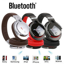 NEW Bluetooth Wireless MP3 Music Player Headphone For Phone Tablet PC Zealot B5