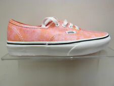 SALE :- VANS AUTHENTIC TRAINERA IN (SPARKLE) CORAL WAS £52 NOW £34.99