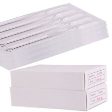 New 15 30 50 100 pcs Disposable Tattoo Needles RL RM RS F M1 M2 All Size U Pick