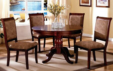 Dining Set Furniture Stylish Dining Table w/ 4 Chairs Dining Room Set CM3224RT