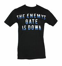 Ender's Game Mens T-Shirt - The Enemy's Gate is Down Word Logo Image