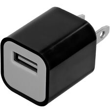 Black Wall Travel Home AC Charger Adapter for Cell Phones iPhone 5S Galaxy S4 S3