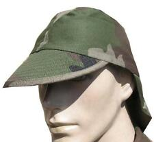 GENUINE FRENCH ARMY FIELD HAT with NECK PROTECTION in F2 CCE CAMO