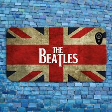 Cute Union Jack Flag Music The Beatles Phone Case iPhone 4 4s iPhone 5 5s 5c 6