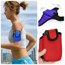 Outdoor Cycling Sports Running Wrist Pouch Wallet Mobile Phone Arm Bag W0578 FST