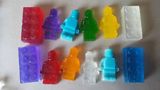 Kids soap. 15 lego bricks or lego man shape. Ideal for party bags, present