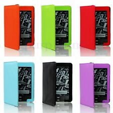 For Amazon Kindle 4 4th Generation PU Leather Case Cover Colorful