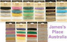 Hemp Cord - Assorted Sizes & Colours - macrame, braiding & jewellery making