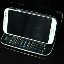 Wireless Bluetooth Keyboard Sliding Case Cover For Samsung Galaxy S4 I9500 I9508