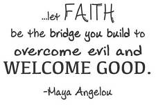 "Maya Angelou Wall Decal | Poet Inspirational Quote | 20""x14"" [DS8]"