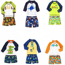Gymboree Swim Sets-Rash Guard & Swim Trunks UPF 50+ 6 12 18 24 2T 3T 4T