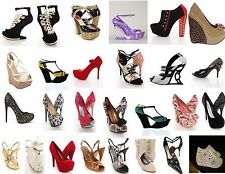 Wholesale Shoe lots Womens Stilettos Pumps High Heels Wedges Sandals 100 Pairs