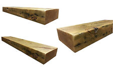 Floating Shelf Chunky Wooden Rustic Mantel Pine Timber Reclaimed