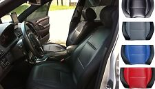 Select NISSAN mix LIKE CARBON FIBER & SYNTHETIC TWO FRONT CUSTOM CAR SEAT COVERS