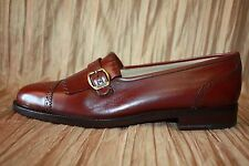 """Men's New YANKO of SPAIN """"Hand-Crafted"""" Leather Shoes 8 W Retail $295.00"""