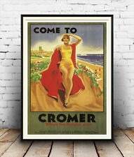 Cromer : Old Travel Poster reproduction