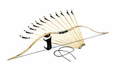 FLAGELLA DEI SET:SCYTHIAN RECURVE HORSEBOW, 12 ARROWS, ARMGUARD, SPARE STRING
