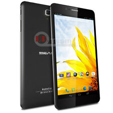 7 inch IPS octa core 16G Android 4.4 dual sim 3G wifi phone tablet PC GPS WCDMA